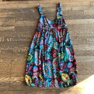 Psychedelic Baby Doll Dress
